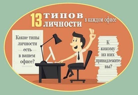 13 основных видов офисных работников